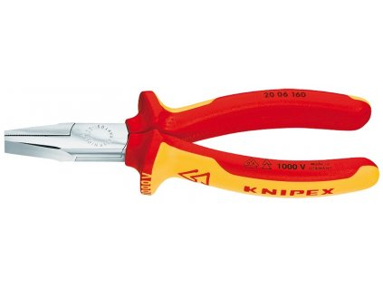 KNIPEX Ploché kliešte 160  SERVIS EXCLUSIVE