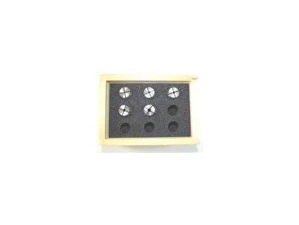 PROXXON KLIEŠTINY ER20 UNIVERZÁLNE 2,4-5,0 MM /5 KS PRE PF400 A FF500 (24253)  + SERVIS EXCLUSIVE