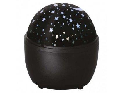 LED dekoratívny projektor – hviezdy, 3× AA, vnút.