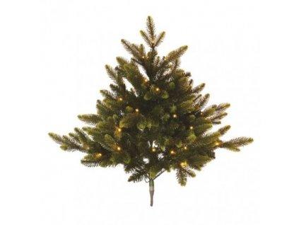LED vianočný stromček, 75 cm, 3x AA, vnútorný, teplá biela, časovač