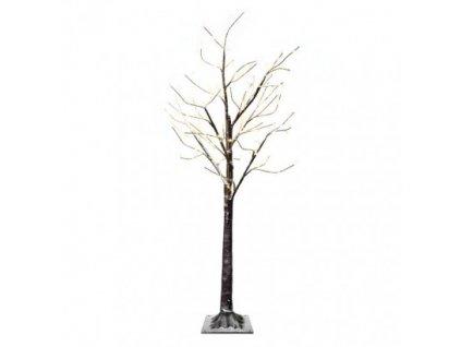 LED svietiaci stromček, 120 cm, vonkajší aj vnútorný, teplá biela