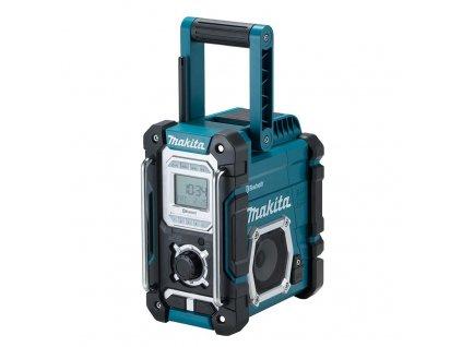 MAKITA DMR108 Akumulátorové rádio, Bez akumulátoru a nabíjačky  SERVIS EXCLUSIVE   Rozšírenie záruky na 3 roky zadarmo