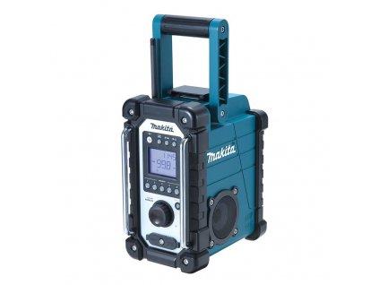 MAKITA DMR107 Akumulátorové rádio,Bez akumulátoru a nabíjačky  SERVIS EXCLUSIVE   Rozšírenie záruky na 3 roky zadarmo