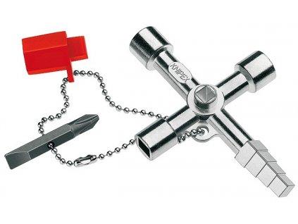 KNIPEX Kľúč na rozvodné skrine Profi-Key 90  SERVIS EXCLUSIVE + VOUCHER - zľavový kupón
