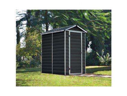 Palram Skylight 4x6 antracit záhradný domček