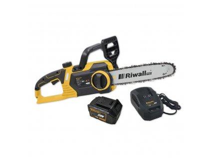 Riwall PRO RACS 2520i SET- reťazová píla s aku motorom 20 V