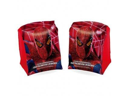 Rukávniky Bestway® 98001, Spiderman, detské. nafukovacie, 230x150 mm