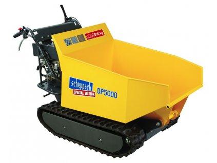 SCHEPPACH DP 5000 Pásový prepravník 500 kg s hydraulickým sklápaním korby