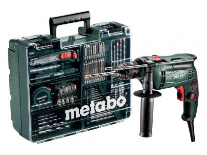 METABO SBE 650 SET Príklepová vŕtačka  SERVIS EXCLUSIVE | Rozšírenie záruky na 3 roky zadarmo + VOUCHER - zľavový kupón