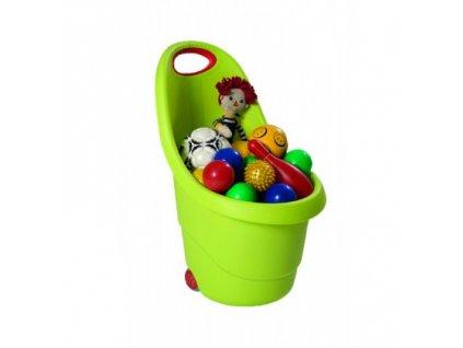 KIDDIES GO zelená  + VOUCHER - zľavový kupón