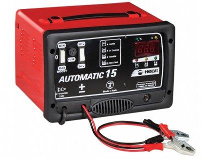 SOLUTION Automatická nabíjačka AUTOMATIC 15  SERVIS EXCLUSIVE
