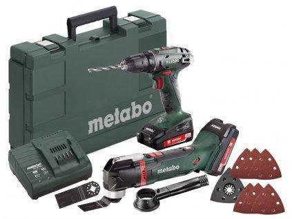METABO Combo Set 2.6.1 18 V Akumulátorové stroje v sade  SERVIS EXCLUSIVE | Rozšírenie záruky na 3 roky zadarmo