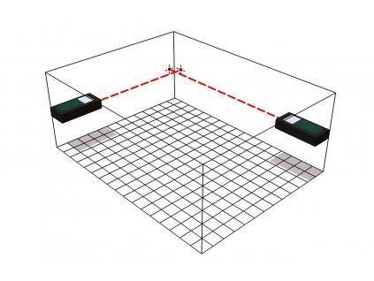 METABO LD 60 laserový diaľkomer