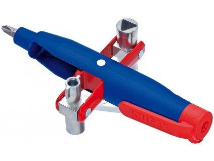 KNIPEX Kolíkový kľúč na rozvodné skrine Pre bežné skrine a systémy zatváranie 145  + SERVIS EXCLUSIVE