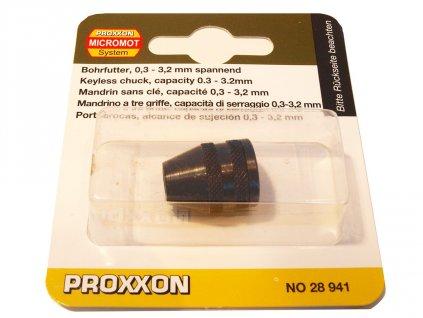 PROXXON Trojčelusťové skľučovadlo .(28941)