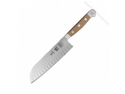 Japonský nôž Santoku Alpha Hruška Güde Solingen 18 cm