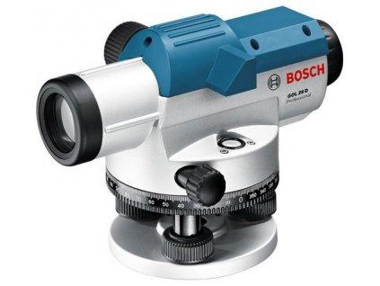 BOSCH GOL 26 D Optický nivelačný prístroj  SERVIS EXCLUSIVE | Rozšírenie záruky na 3 roky zadarmo