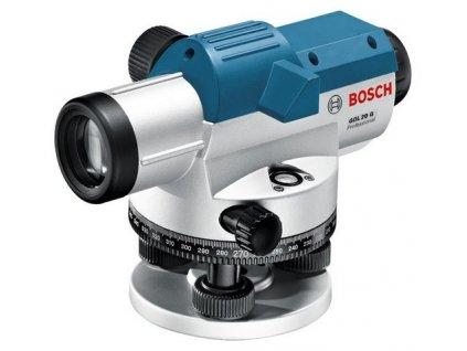 Optický nivelačný prístroj Bosch GOL 20 G  + SERVIS EXCLUSIVE + Rozšírenie záruky na 3 roky zadarmo