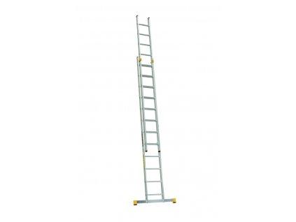 ALVE FORTE 8716 Rebrík dvojdielny výsuvný rozšírená verzia  SERVIS EXCLUSIVE