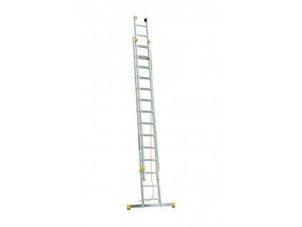 ALVE FORTE 8320 Rebrík dvojdielny výsuvný s lanom  SERVIS EXCLUSIVE
