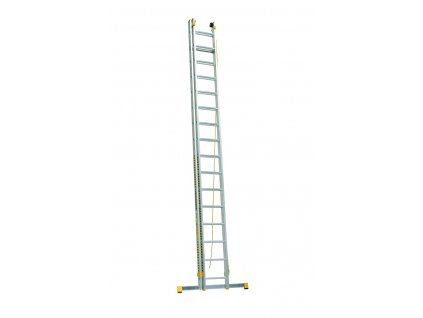 ALVE FORTE 8820 Rebrík dvojdielny výsuvný s lanom rozšírená verzia  SERVIS EXCLUSIVE
