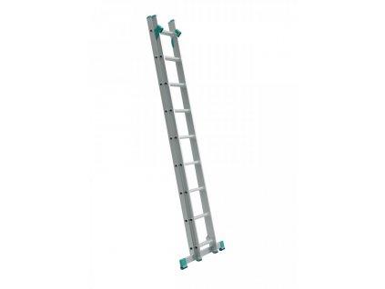 Rebrík dvojdielny univerzálny s úpravou na schody ALVE EUROSTYL 2x9 (2,58m)