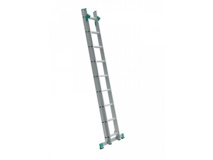 Rebrík dvojdielny univerzálny s úpravou na schody ALVE EUROSTYL 2x11 (3,15m)
