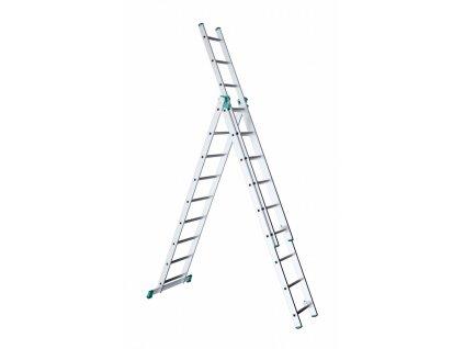 ALVE EUROSTYL 7608 Rebrík trojdielny univerzálny  SERVIS EXCLUSIVE