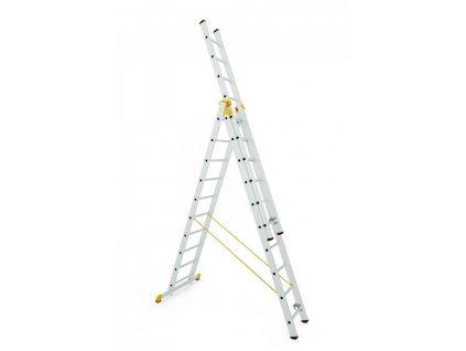 ALVE FORTE 8612 Rebrík trojdielny univerzálny  SERVIS EXCLUSIVE + VOUCHER - zľavový kupón