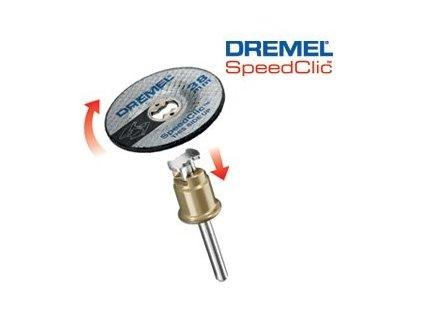 DREMEL® EZ SpeedClic™: brúsny kotúč