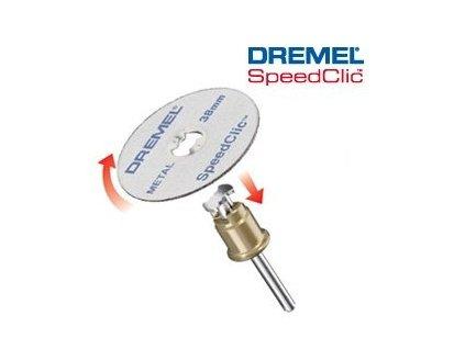 Speedclic - set Dremel SC406 38,0 mm