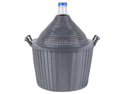 Demižón Cada Inco 34 lit, sklo/plast, 570x460/355 mm