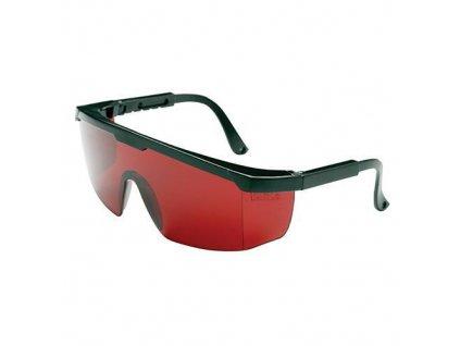 Okuliare Safetyco B507, červené, ochranné