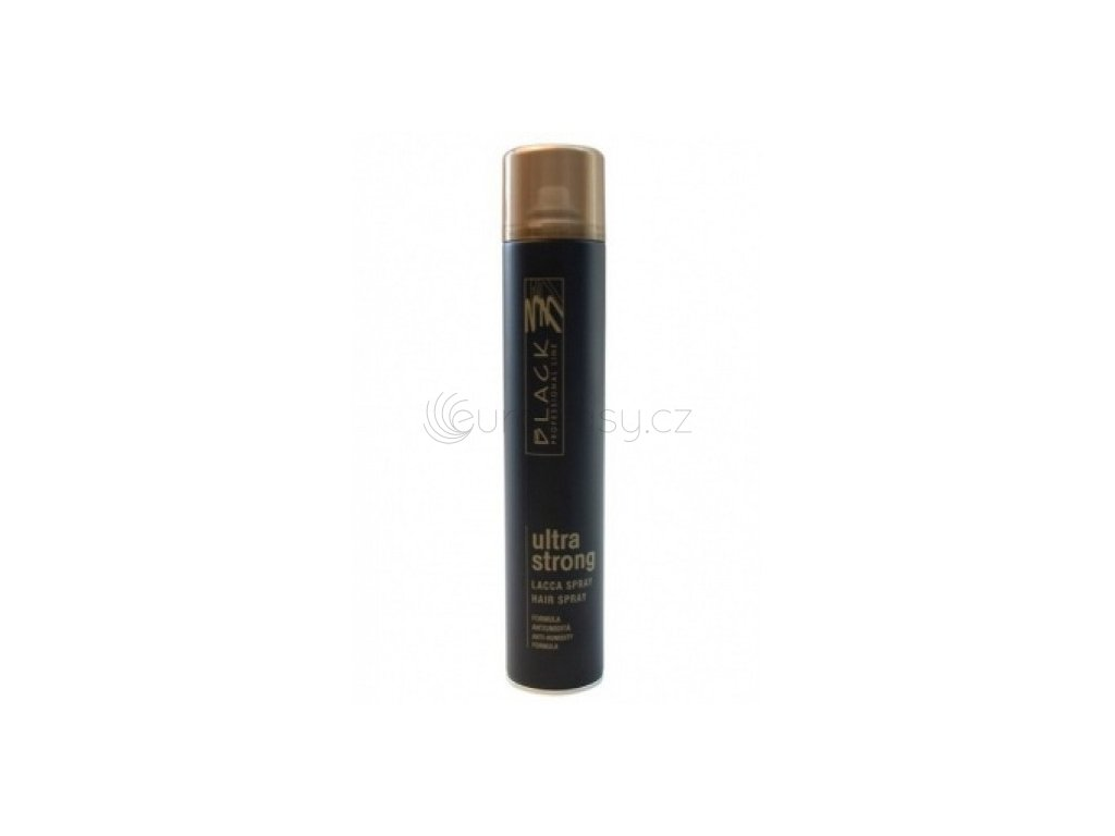 Black Line Ultra Strong Hair Spray - 750 ml