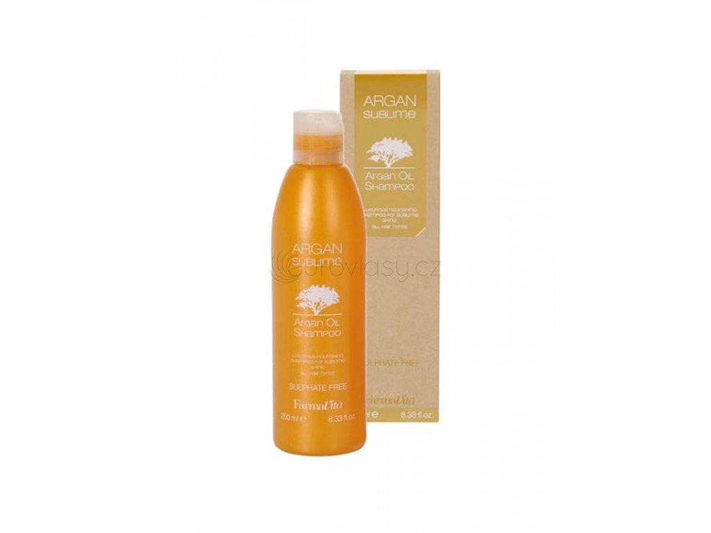 argan sublime shampoo 250 ml farmavita