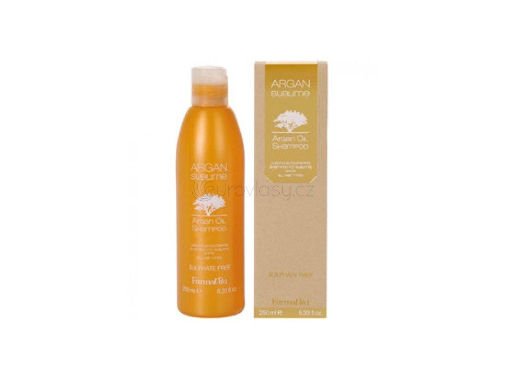 FarmaVita Argan Sublime - Argan Oil Shampoo 250ml