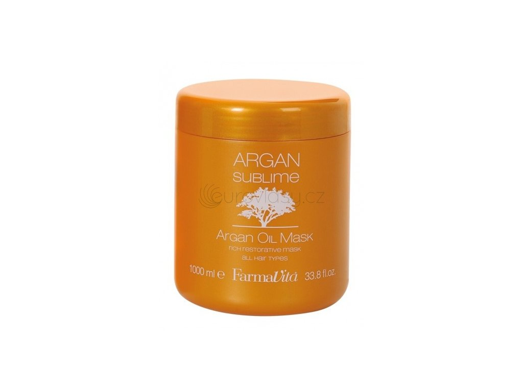 Argan Sublime Argan Oil Mask - arganová maska na vlasy 1000 ml