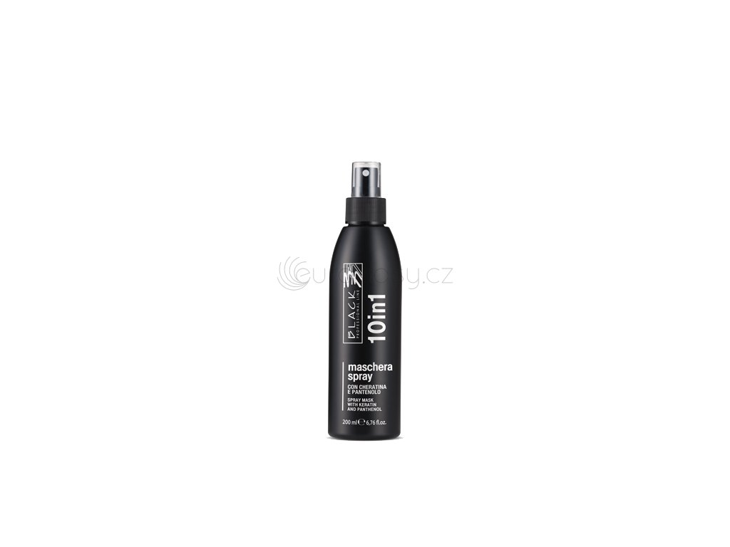 black 10 in 1 200ml maschera spray 43