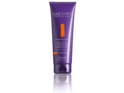 FarmaVita Amethyste Colouring Mask Copper/měděná 250 ml