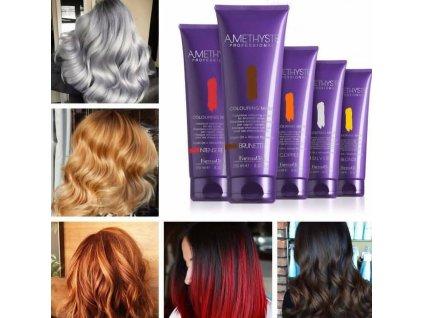 FarmaVita Amethyste Colouring Mask Blonde/blond 250ml
