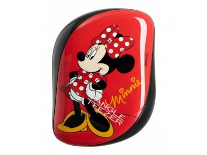 Tangle Teezer Compact Styler Minnie Mouse Rosy Red - kartáč na vlasy