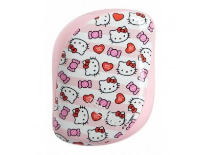 Tangle Teezer Compact Styler Hello Kitty Candy Stripes - kartáč na vlasy