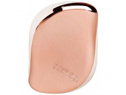 Tangle Teezer Compact Styler Rose Gold Cream - kartáč na vlasy