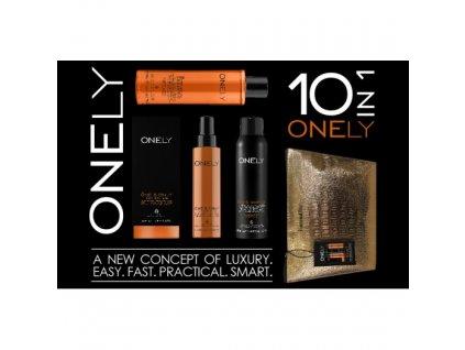 Onely šampon 200 ml+suchý šampon 150 ml+kondicionér 150 ml+ZDARMA kosmetická taštička - sada péče o vlasy