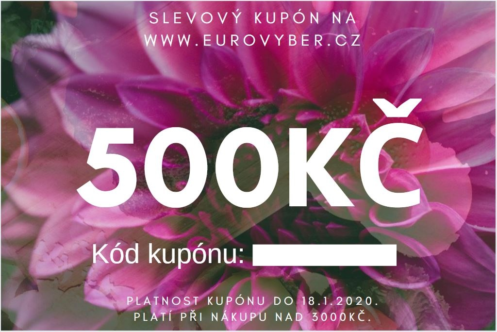 Slevový kupón 500 Kč