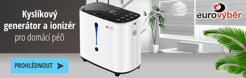 Kyslíkový generátor a ionizér pro domácí péči