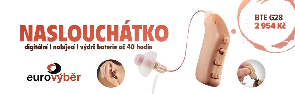 DIGITÁLNÍ nabíjecí naslouchátko BTE G28