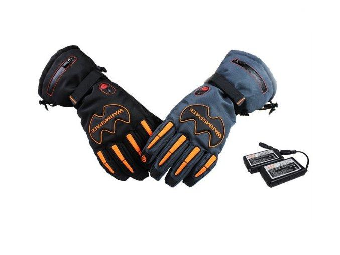 Vyhřívané rukavice W-Space 5600mAh, šedá