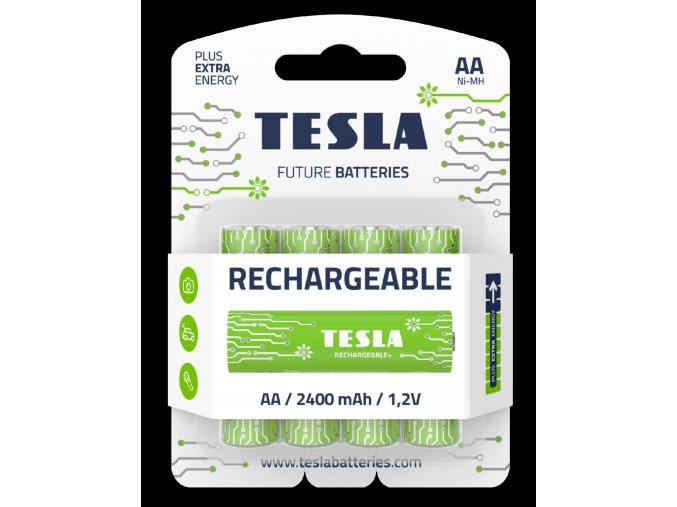 Tesla Baterie Rechargeable AA 2019