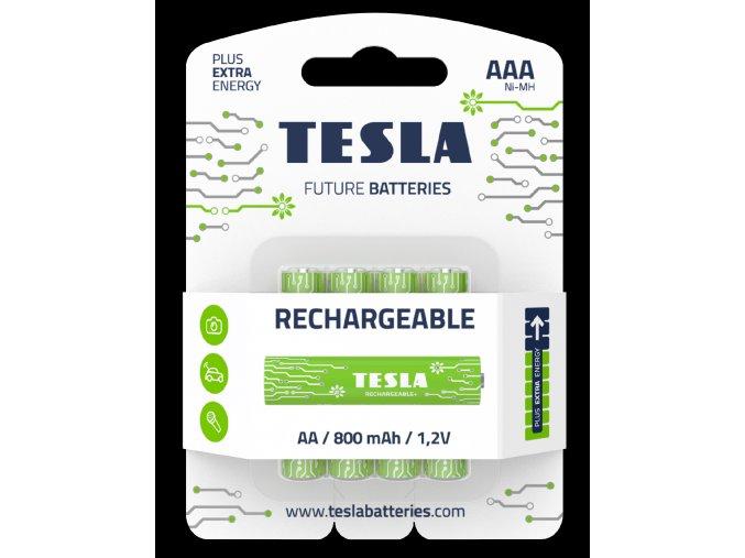 Tesla Baterie Rechargeable AAA 2019